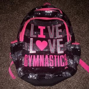 I love gymnastics backpack